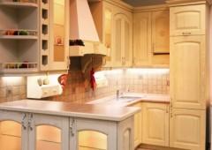 Кухня из массива МЯ4