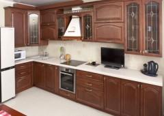 Кухня из массива МД6