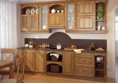 Кухня из массива МД5